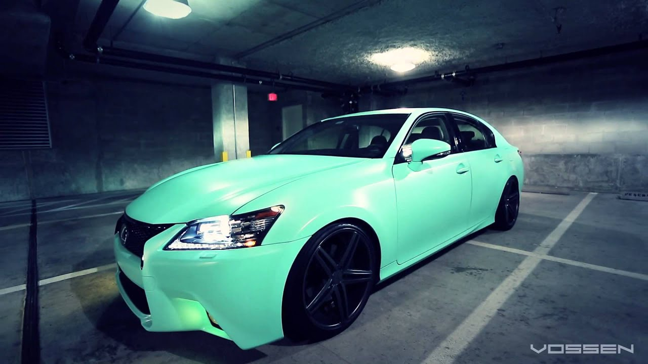 Lexus Gs350 On 20 Vossen Vvs Cv5 Concave Wheels Rims