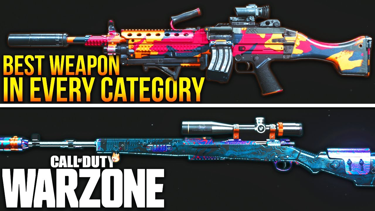 Call Of Duty WARZONE: The New BEST WEAPON In EVERY Category! (WARZONE Best Class Setups)