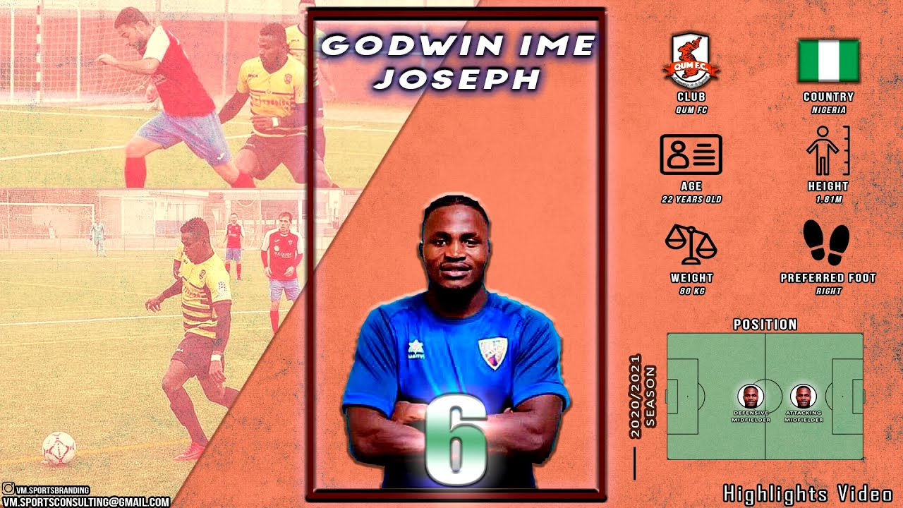 Godwin Ime Joseph - Highlights Video (2020/2021Season)