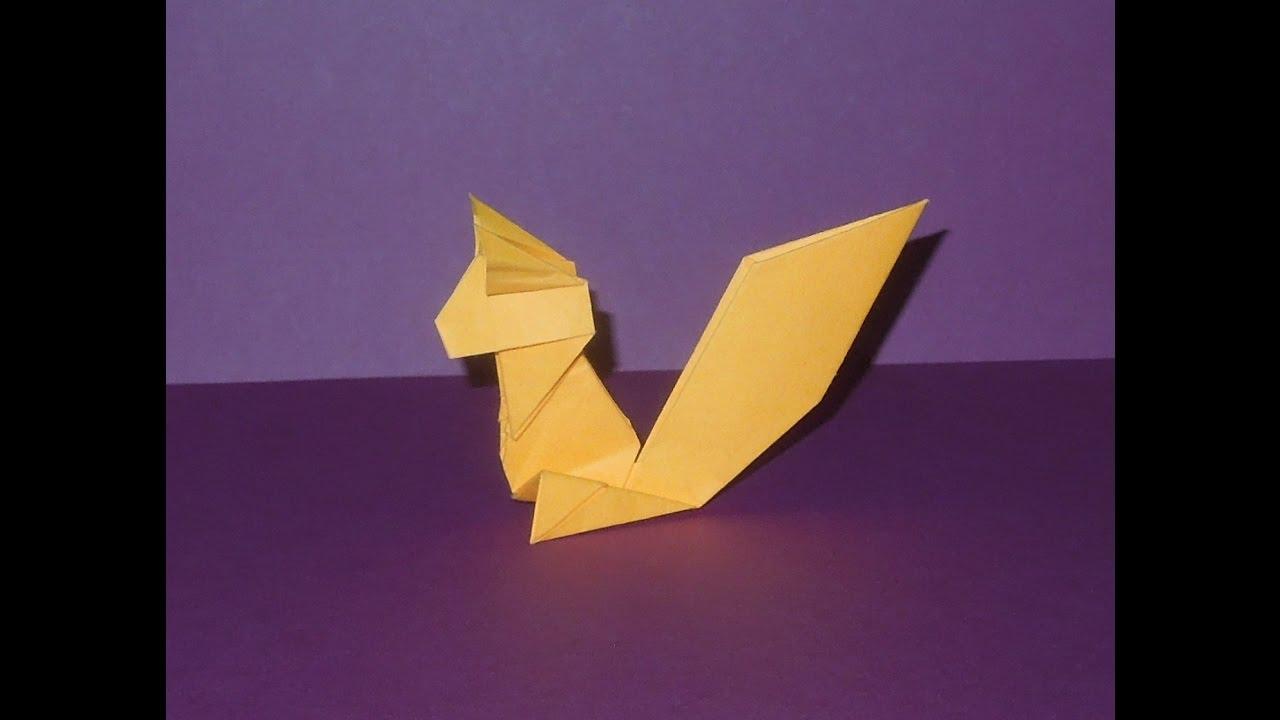 планета оригами дельфин схема