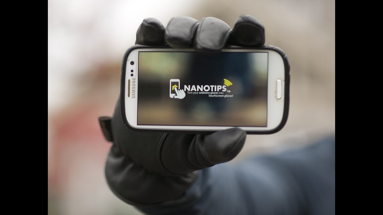 Review: Nanotips Make Your Gloves Smartphone-Friendly