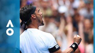 Julien Benneteau v Fabio Fognini match highlights (3R) | Australian Open 2018