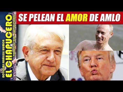 TRUMP VENDRÁ A TOMA DE PROTESTA DE AMLO Y NO DEJARLO SOLO CON PUTIN