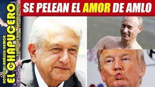 TRUMP VENDRÁ A TOMA DE PROTESTA DE AMLO (Y NO DEJARLO SOLO CON PUTIN)