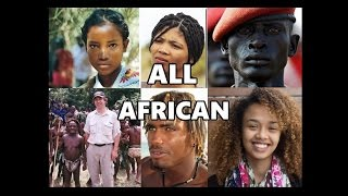 """Africans are NOT """"Black."""" The Many Races of Africa"""