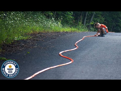 Mike McConnell - Longest Hot Wheels Track EVER!
