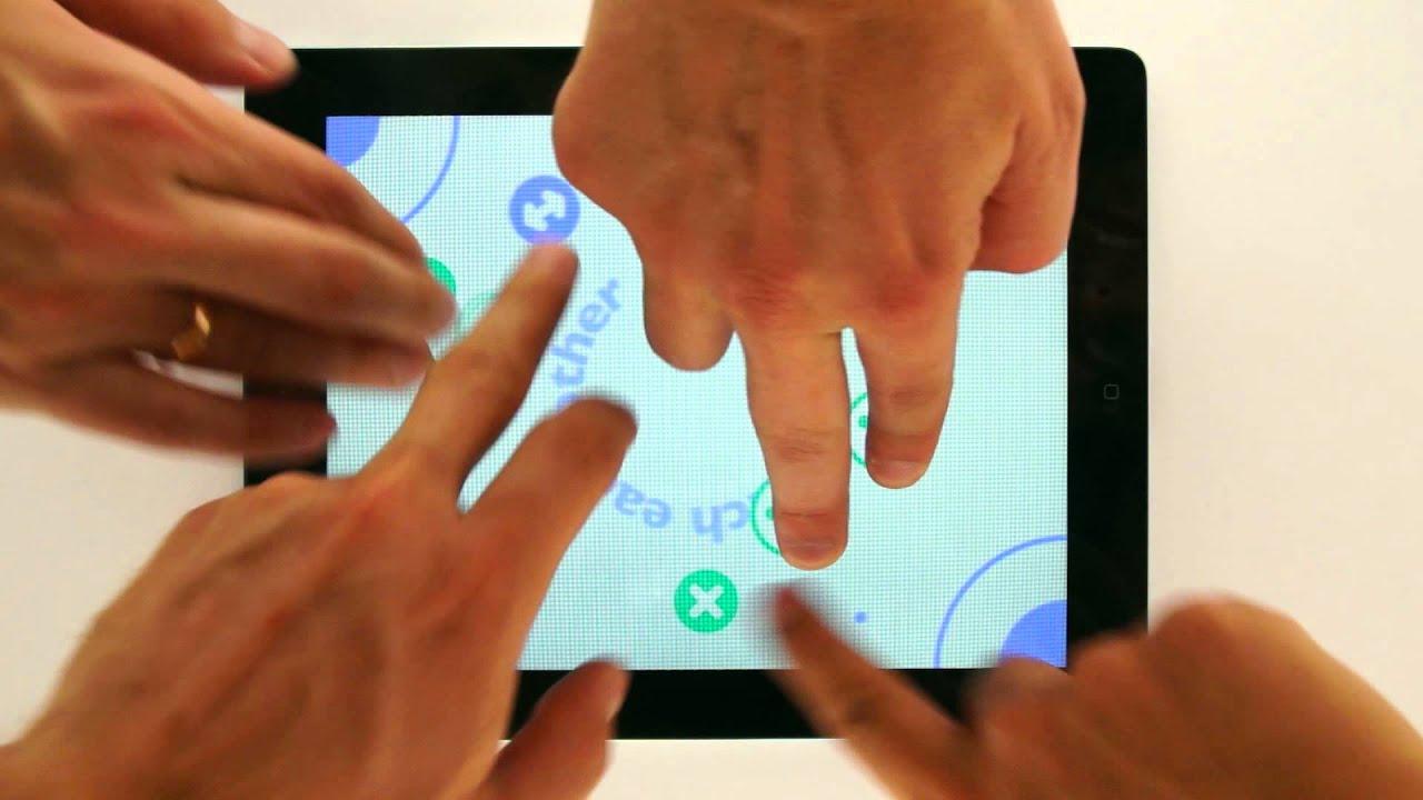 Fingering games