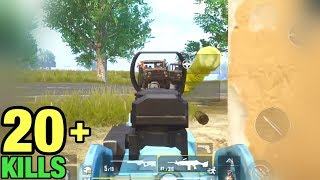 2 Enemy's Cars Attack Me & This Happened | SOLO VS SQUAD PUBG MOBILE