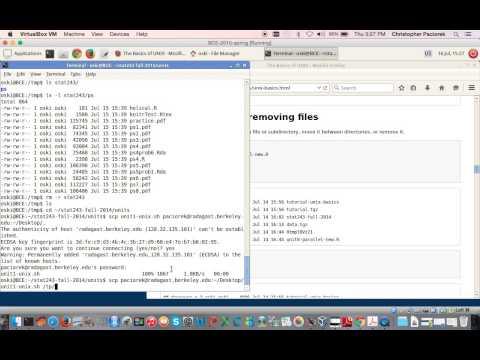 UNIX basics tutorial