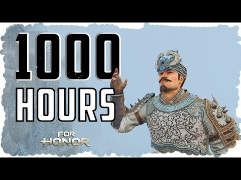 What 1000 HOURS of Tiandi EXPERIENCE Looks Like - For Honor