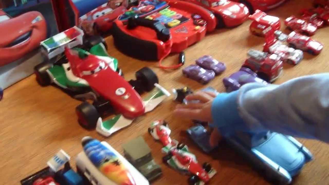 i giocattoli di cars