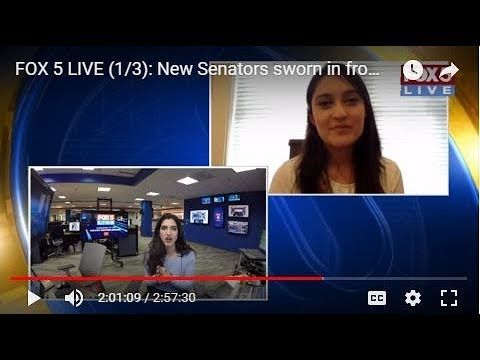 FOX 5 LIVE (1/3): New Senators sworn in from Capitol Hill; New Years resolution alternatives