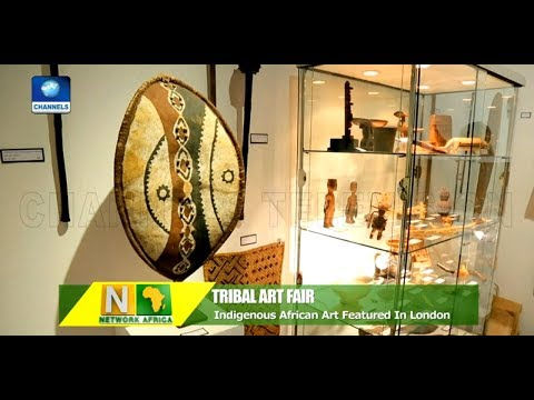African Collector Showcase Artifacts In London Tribal Art Fair |Network Africa|