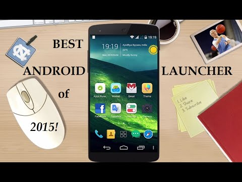 Top 5 Best Android Launchers of All Time!