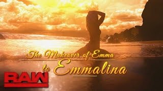 Das Makeover von Emma zu Emmalina feiert bald Premiere: Raw, 17. Oktober 2016