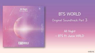 Baixar [AUDIO] All Night - BTS ft. Juice WRLD(BTS WORLD OST Part 3)