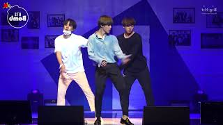 Download Video [MIRRORED] BTS - HOME PARTY 613 Unit Stage  '삼줴이(3J)' Dance Practice MP3 3GP MP4