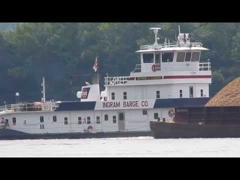 Tug and Barges on Tennessee River