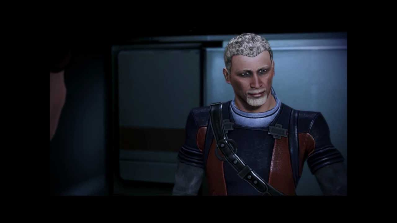 Conrad Verner In ME3 (ALL Conversations W/paragon Options