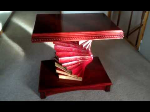 Encyclopedia End Table