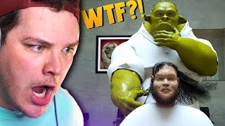 REACTING TO THE WEIRDEST ANIMATIONS ON YOUTUBE
