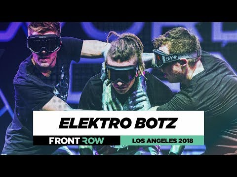 Elektro Botz |  FrontRow | World of Dance Los Angeles 2018 | #WODLA18