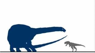 Tyrannosaurus rex vs Amphicoelias