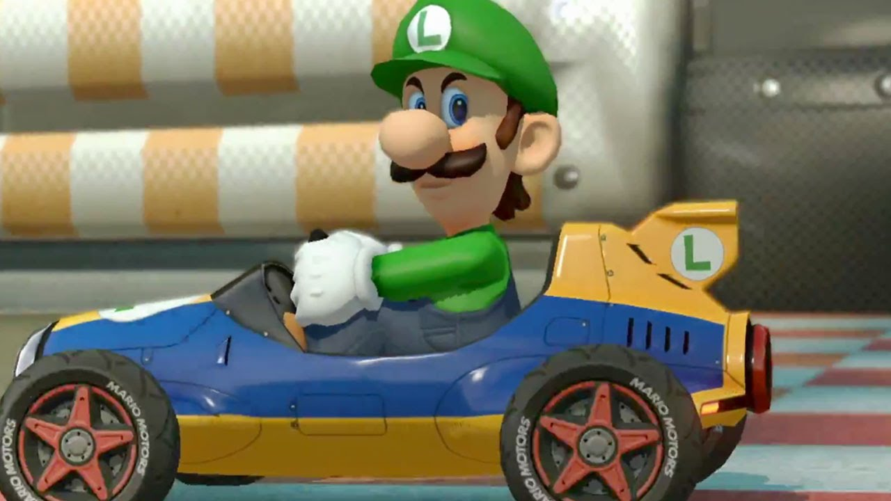 Image result for luigi death stare