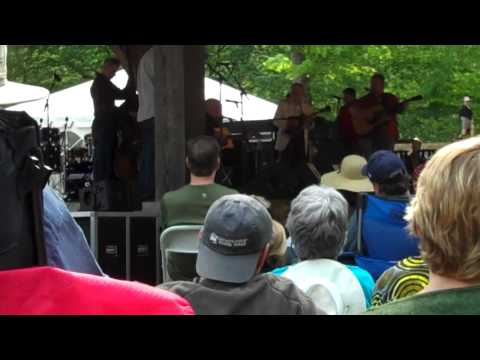 Merlefest 2011 with Tom Clark