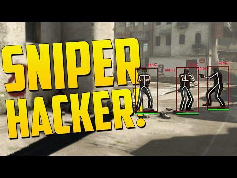 CRAZY SNIPER WALL HACKER! - CS GO Overwatch Funny Moments
