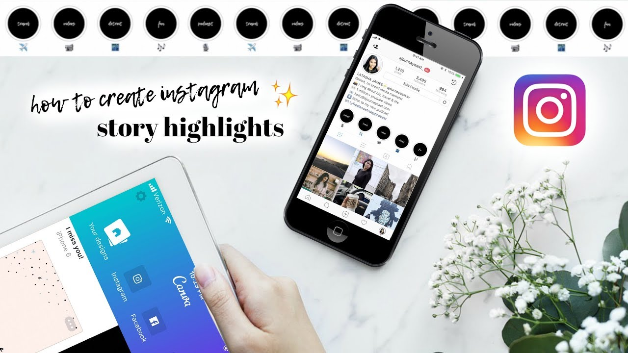 How to create instagram story highlights youtube socialmediamanager girlboss freelancer ccuart Gallery