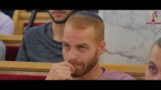 הרב רונן שאולוב בשיעור מוסר מהמם על מידות ודרך ארץ - רמת גן 31-10-2017