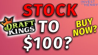 Draft Kings ($DKNG) to $100 - Massive Growth Ahead