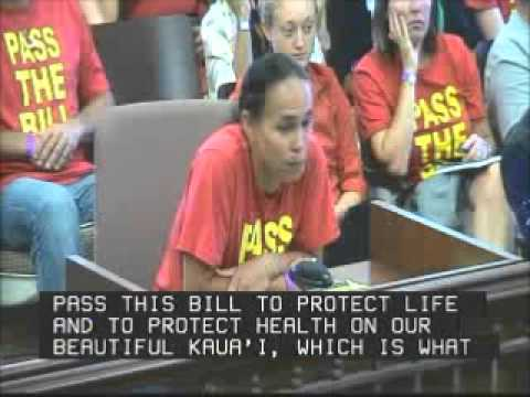Hoku Cabebe & Journey Zephier Testimony Kauai County Council Sept  27, 2013