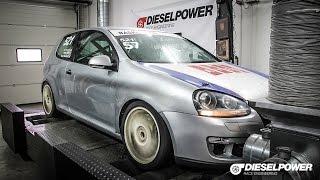 VW Golf V 2.0TDI 140PS to 263PS by DIESELPOWER www.dp-race.com