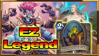 Hearthstone: Get EZ Legend With My New Silence Priest! Rise of Shadows New Decks