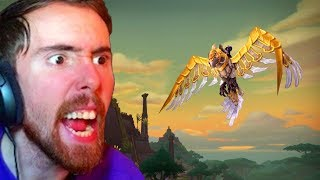 """Asmongold Reacts """"I HAVE NON OF THESE"""" The Big Patch 8.2 Mount Guide - Bellular"""