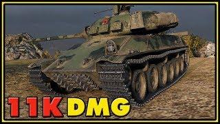 TVP T 50/51 - 11K Dmg - World of Tanks Gameplay