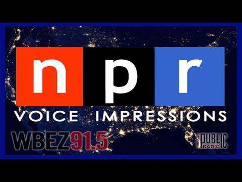 National Public Radio (NPR) Voice Impressions