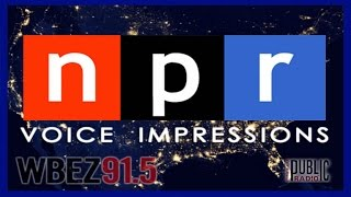 National Public Radio (NPR) Voice Impressions