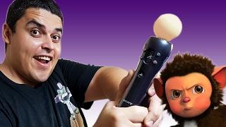 Playstation Move e seus Jogos Sem-Noção