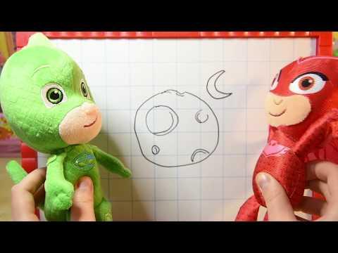 Indovina i disegni! I PJ MASKS SUPER PIGIAMINI si sfidano in una nuova challange [VIDEO EDUCATIVO]