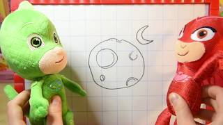 Indovina i disegni! I PJ MASKS SUPER PIGIAMINI si sfidano in una nuova challange [VIDEO EDUCATIVO]