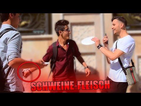 SCHWEINE-FLEISCH Prank in der TÜRKEI !..😱 | STREETCOMEDY | Denizon