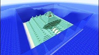10 ЧАСОВ ИГРАЮ В MINECRAFT! Затонувшие храмы и осушение!