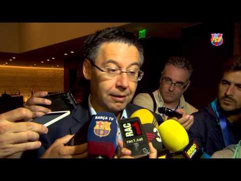FC Barcelona US Summer Tour: Josep Maria Bartomeu  (CAT)