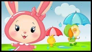 Flic, flac, floc - La comptine de la pluie - Les Titounis