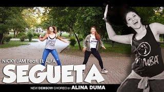 Nicky Jam feat. El Alfa – SEGUETA- by ALINA DUMA(Zumba Ⓡ Fitness Choreo)