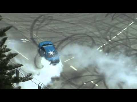 V8 Supercars Gold Coast Queensland Australia 2010   Burnouts