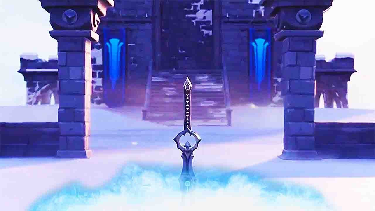 Fortnite The Ice Kings Legendary Sword Official Trailer Youtube